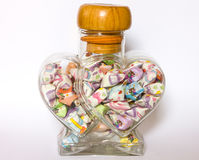 Handmade paper heart Stock Image