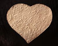 Handmade paper hearts Royalty Free Stock Photo