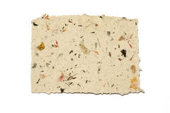 Handmade paper made ​​at home Royalty Free Stock Image