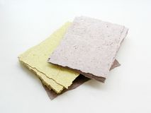Handmade paper Stock Photos