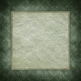 Handmade paper sheet on grunge background Stock Images