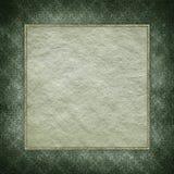 Handmade paper sheet on grunge background Stock Images