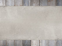 Handmade paper sheet on old wood background Stock Images