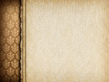 Handmade paper sheet on wallpaper background Stock Photo