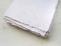 Handmade paper Royalty Free Stock Photos