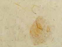 Handmade Paper Texture Stock Photography