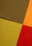Handmade papers Royalty Free Stock Photo