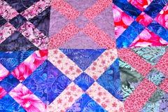 handmade patchwork kołderki tekstury backround Obrazy Stock