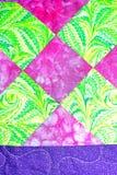 handmade patchwork kołderki tekstury backround Zdjęcie Royalty Free