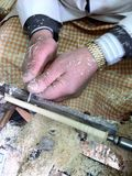Handmade pen. Turkey handmade pen.artistic and beautiful.its almost ending Stock Photography