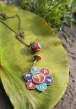 handmade Pendant sur la nature le jour ensoleillé Photo libre de droits