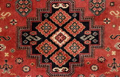 Handmade Persian rug Royalty Free Stock Image