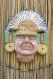 Handmade Peruvian mask Stock Images