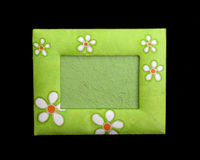Handmade picture frame Stock Photo