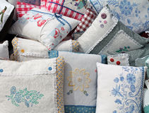 Handmade Pillows Royalty Free Stock Image