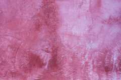 Handmade pink wall Stock Photos