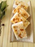 Handmade pomarańcze mydło Obraz Stock