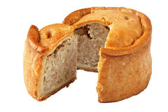 Handmade Pork Pies Royalty Free Stock Images