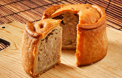 Handmade Pork Pies Royalty Free Stock Photography