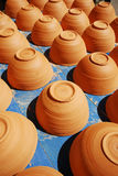 Handmade pot stock image