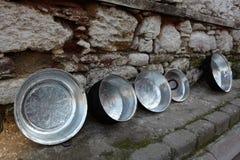Handmade pots Stock Image