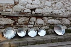 Handmade pots Royalty Free Stock Image