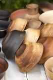 Handmade pottery Stock Photography