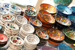 Handmade pottery Royalty Free Stock Images