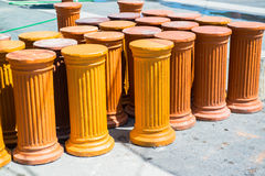 Handmade pottery Royalty Free Stock Image