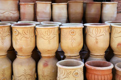 Handmade pottery Royalty Free Stock Photography