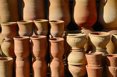 Handmade pottery Royalty Free Stock Image