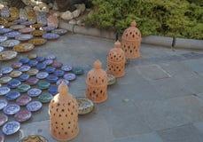 Handmade pottery Stock Photos