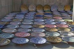 Handmade pottery Royalty Free Stock Photo
