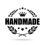 Handmade product vector icon Stock Photos