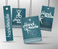 Handmade produkt etykietka ilustracji