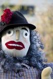 Handmade puppet Stock Photography