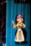 handmade puppetry Непала Стоковые Изображения