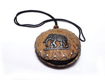 Handmade purse Thailand Royalty Free Stock Photography