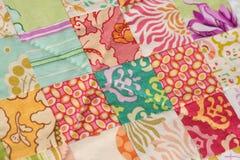 handmade quilt заплатки стоковая фотография