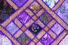 Handmade quilt от Индии стоковое фото rf
