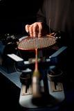 Handmade racket Stock Image