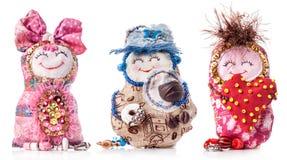 Handmade rag doll Stock Image