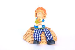 Handmade Rag Dolls - Stock Image Stock Photo