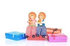Handmade Rag Dolls - Stock Image Stock Image