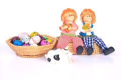 Handmade Rag Dolls - Stock Image Stock Photography
