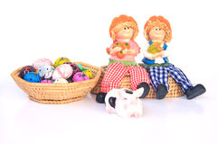 Handmade Rag Dolls - Stock Image Royalty Free Stock Image