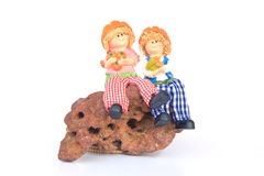 Handmade Rag Dolls - Stock Image Royalty Free Stock Images