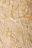 Handmade rice paper texture Royalty Free Stock Image