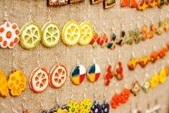 The handmade rings Stock Image