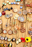 The handmade rings Stock Photo